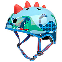 Buy Micro 3D Scootersaurus Scooter Safety Helmet, Medium Online at johnlewis.com