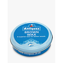 Buy Antiquax Brown Furniture Wax, 100ml Online at johnlewis.com