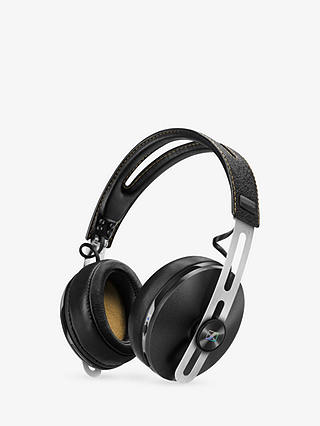 Buy Sennheiser Momentum 2.0 Noise Cancelling Wireless Full Size Headphones with In-line Mic/remote, Black Online at johnlewis.com