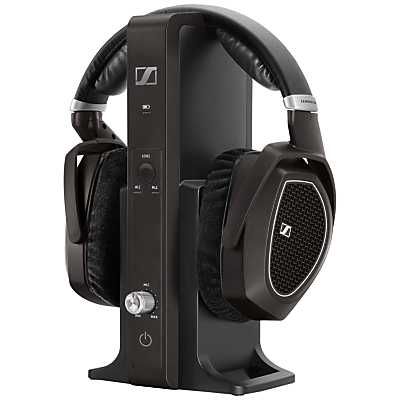 Sennheiser RS 185 Wireless Over Ear Digital Headphones with Manual Level Control