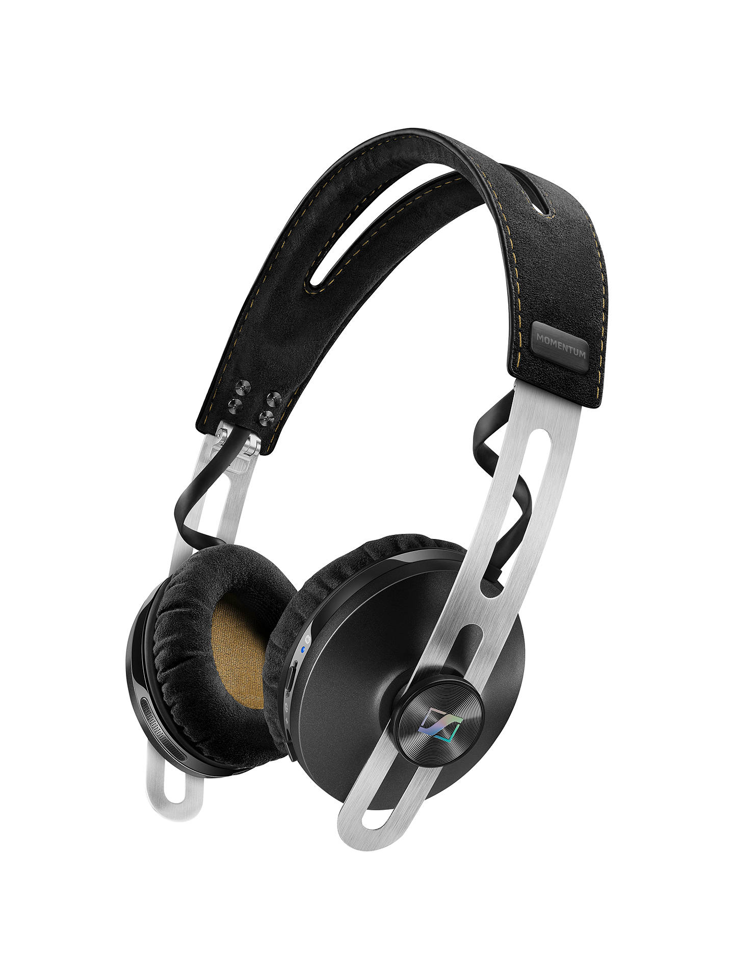 BuySennheiser Momentum 2.0 Wireless On-Ear Headphones with In-line Mic/remote, Black Online at johnlewis.com