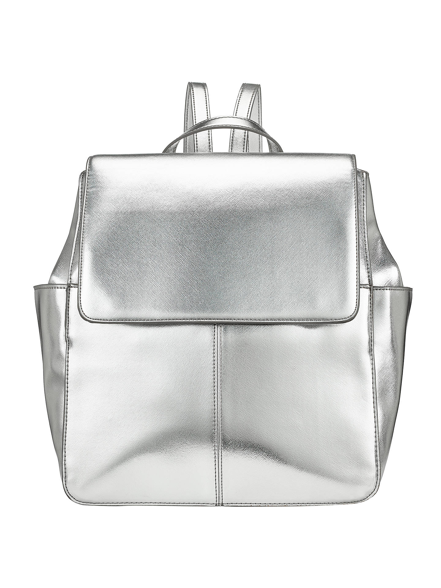 Buy Kin by John Lewis Gia Backpack, Silver Online at johnlewis.com