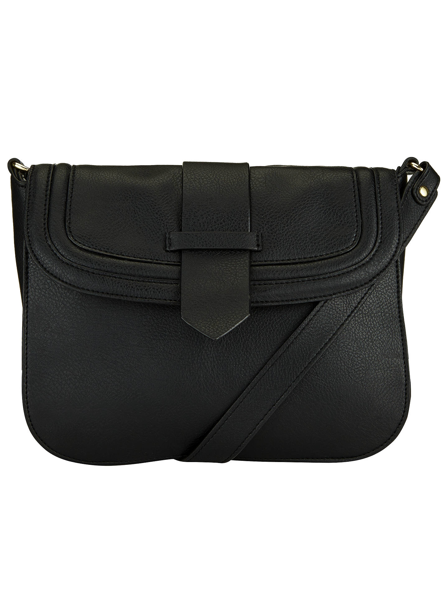 4733da8fc4 Buy John Lewis Daria Crossbody Bag, Black Online at johnlewis.com ...