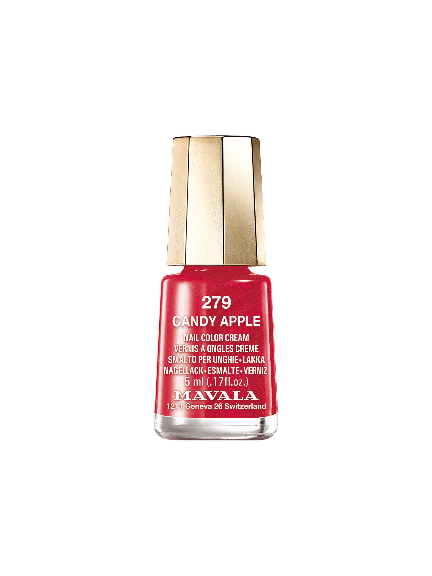 Buy MAVALA Jelly Nail Polish, 5ml, Jelly Candy Apple 279 Online at johnlewis.com