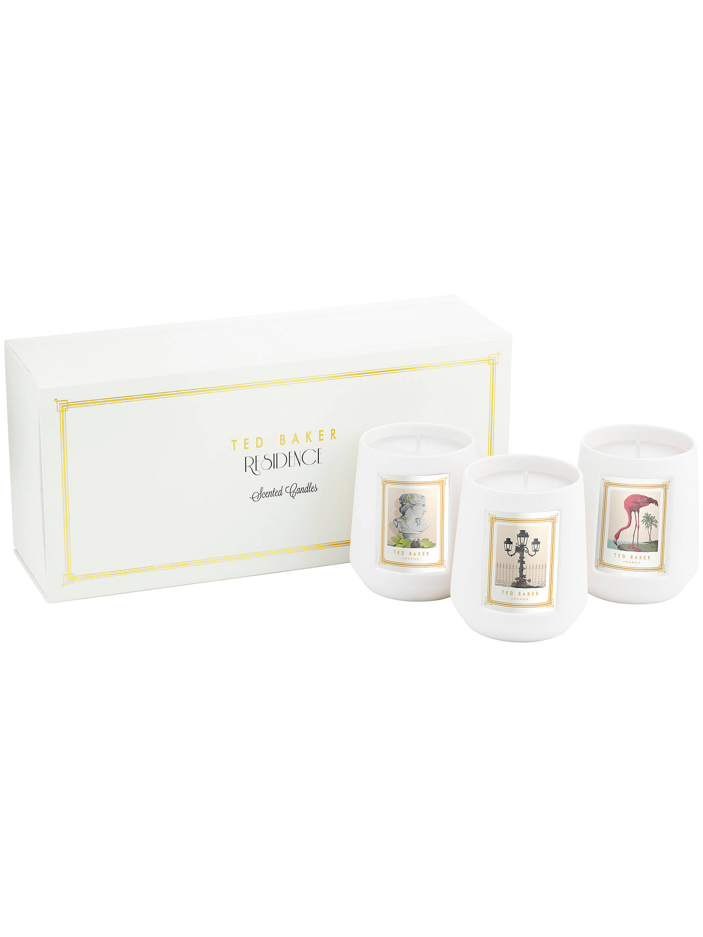 Buy Ted Baker Mini Scented Candle Gift Set Online at johnlewis.com