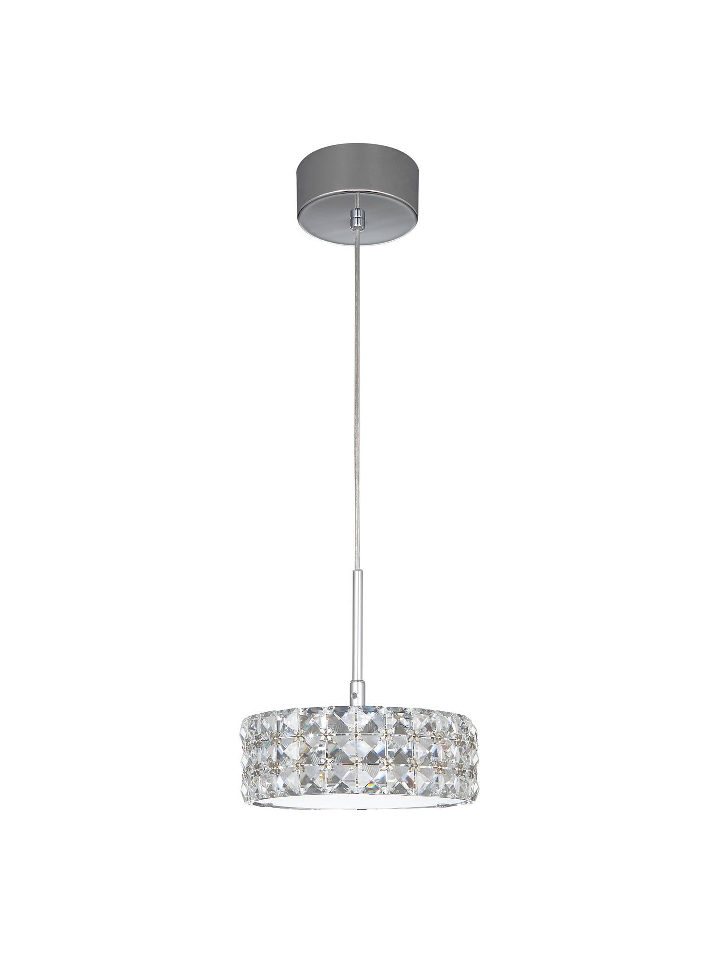 John Lewis Aurora Double Insulated Crystal Pendant Light