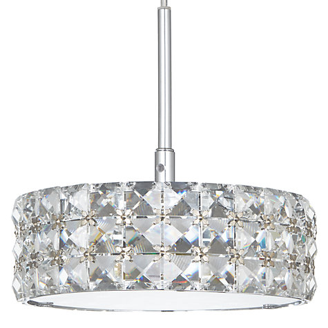 Buy John Lewis Aurora Double Insulated Crystal Pendant