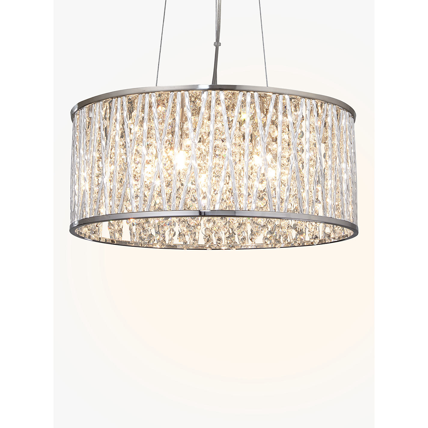 Buy john lewis emilia drum crystal pendant light john lewis buy john lewis emilia drum crystal pendant light online at johnlewis aloadofball Gallery