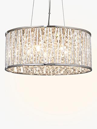 John Lewis & Partners Emilia Large Crystal Ceiling Light