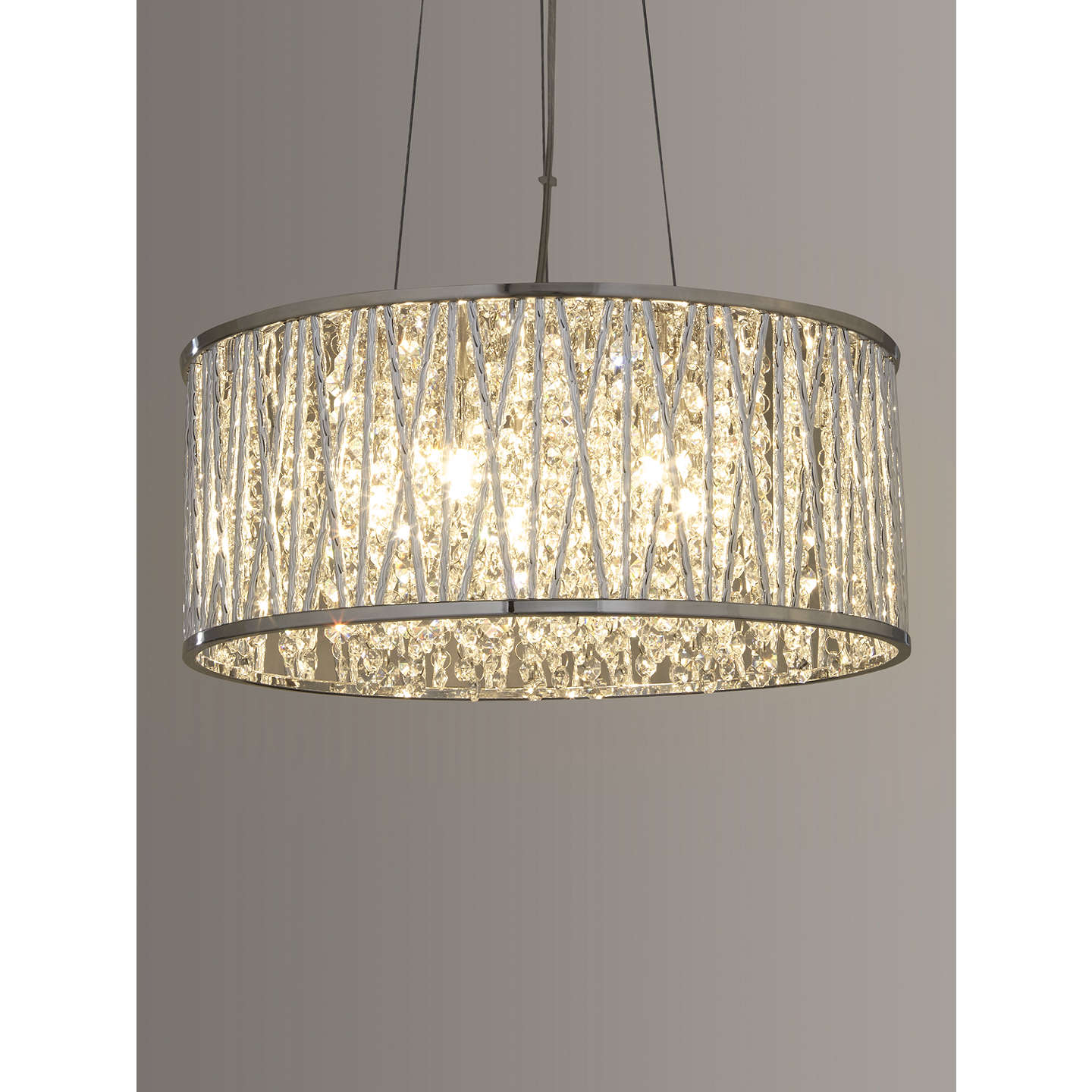 crystal pendant lighting. Crystal Pendant Lighting. Buyjohn Lewis Emilia Drum Light Online At Johnlewis.com Lighting