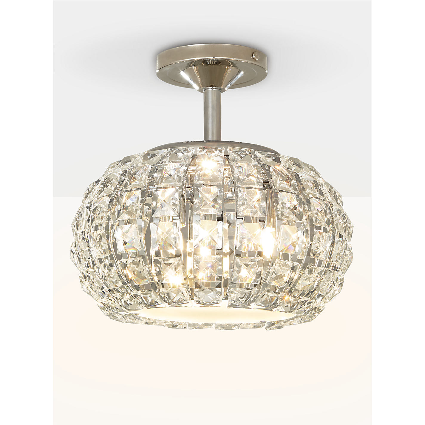 Buy john lewis venus ceiling light crystal and chrome john lewis buy john lewis venus ceiling light crystal and chrome online at johnlewis aloadofball Gallery