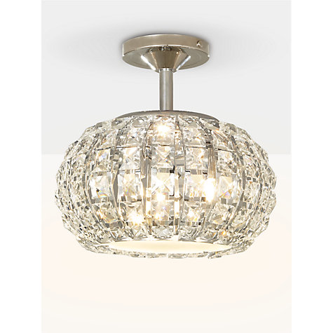 Buy john lewis venus ceiling light crystal and chrome john lewis buy john lewis venus ceiling light crystal and chrome online at johnlewis mozeypictures Gallery