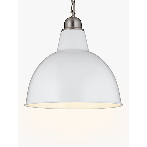 Buy john lewis croft collection aiden factory ceiling light white buy john lewis croft collection aiden factory ceiling light white online at johnlewis mozeypictures Choice Image