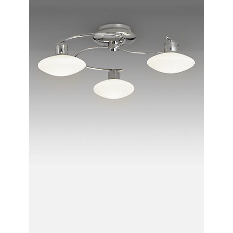 Buy john lewis tameo semi flush 3 arm led ceiling light chrome buy john lewis tameo semi flush 3 arm led ceiling light chrome online at aloadofball Gallery