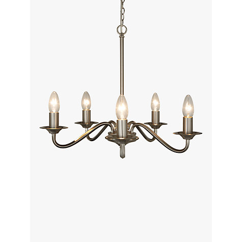 Buy john lewis wakefield chandelier ceiling light 5 light john buy john lewis wakefield chandelier ceiling light 5 light online at johnlewis mozeypictures Gallery