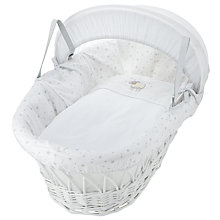 Buy John Lewis Sheep Moses Basket, Grey Online at johnlewis.com