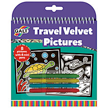 Buy Galt Travel Velvet Pictures Online at johnlewis.com