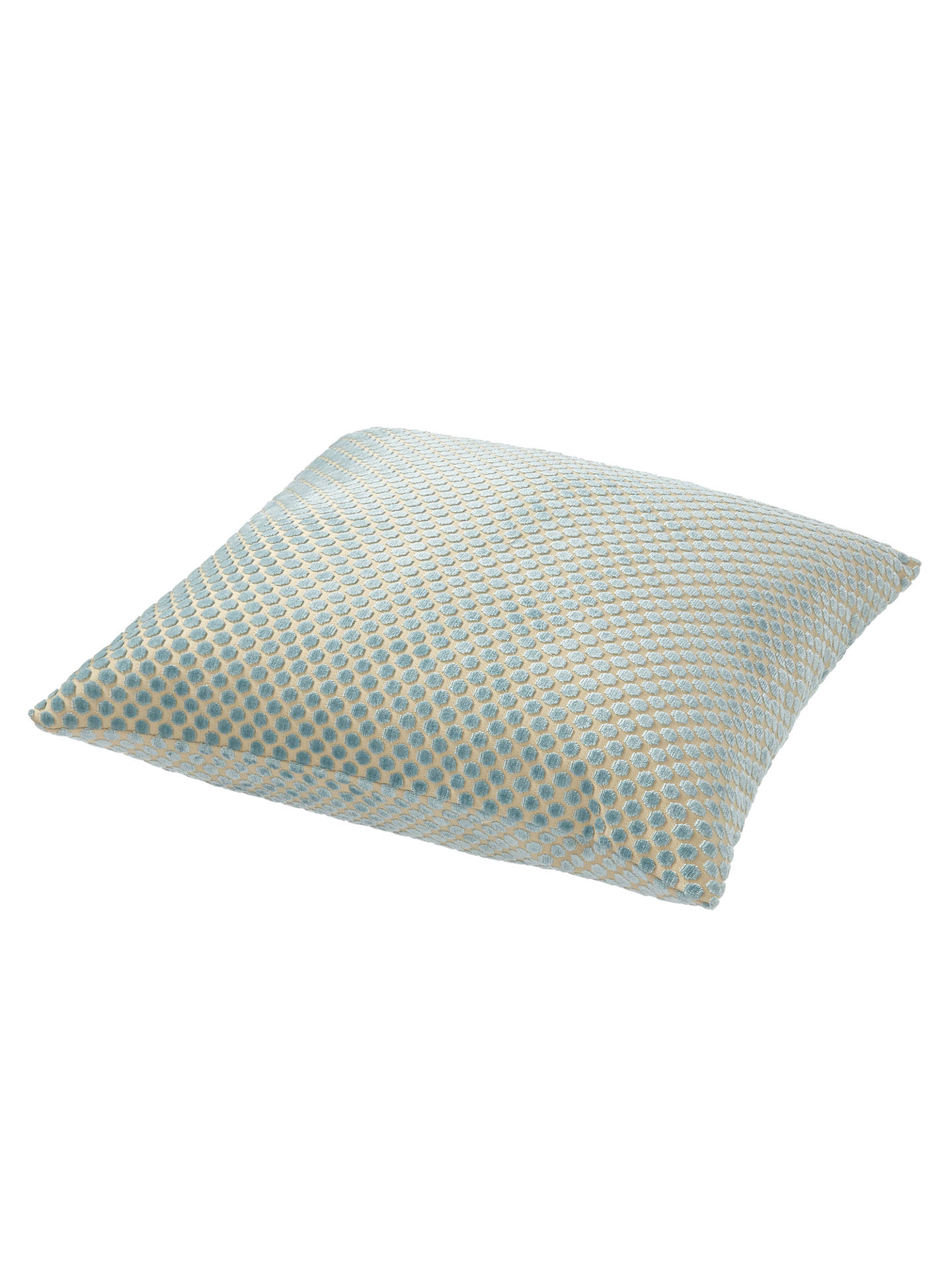 BuyJohn Lewis & Partners Mini Spot Cushion, Duck Egg Online at johnlewis.com
