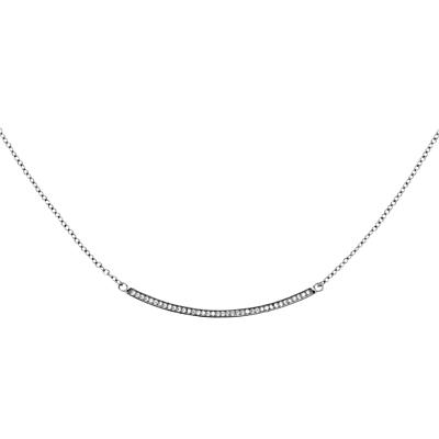 Product photo of Melissa odabash crystal bar necklace