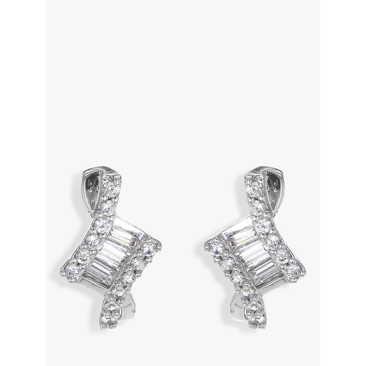 in cubic silver jewelry ct zirconia mystic sterling earrings green stud