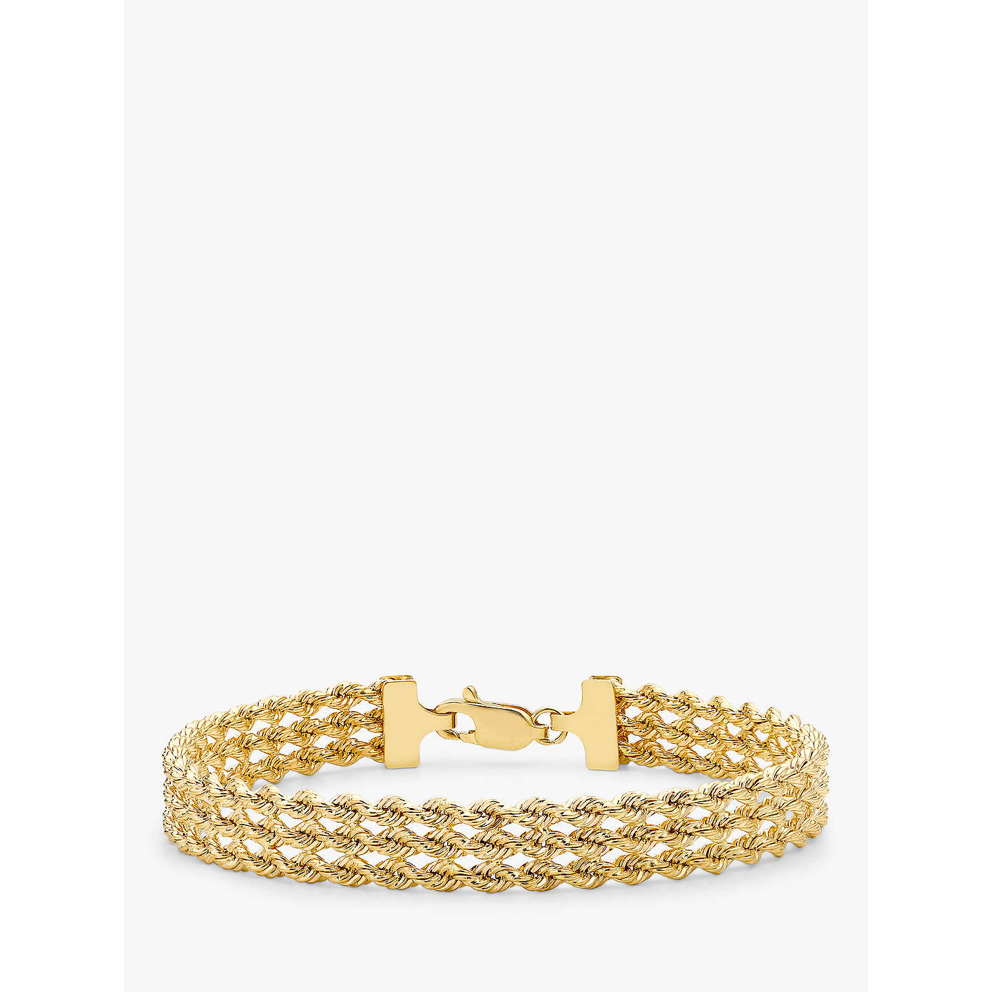 hollow bracelet products gold cuban miami yellow