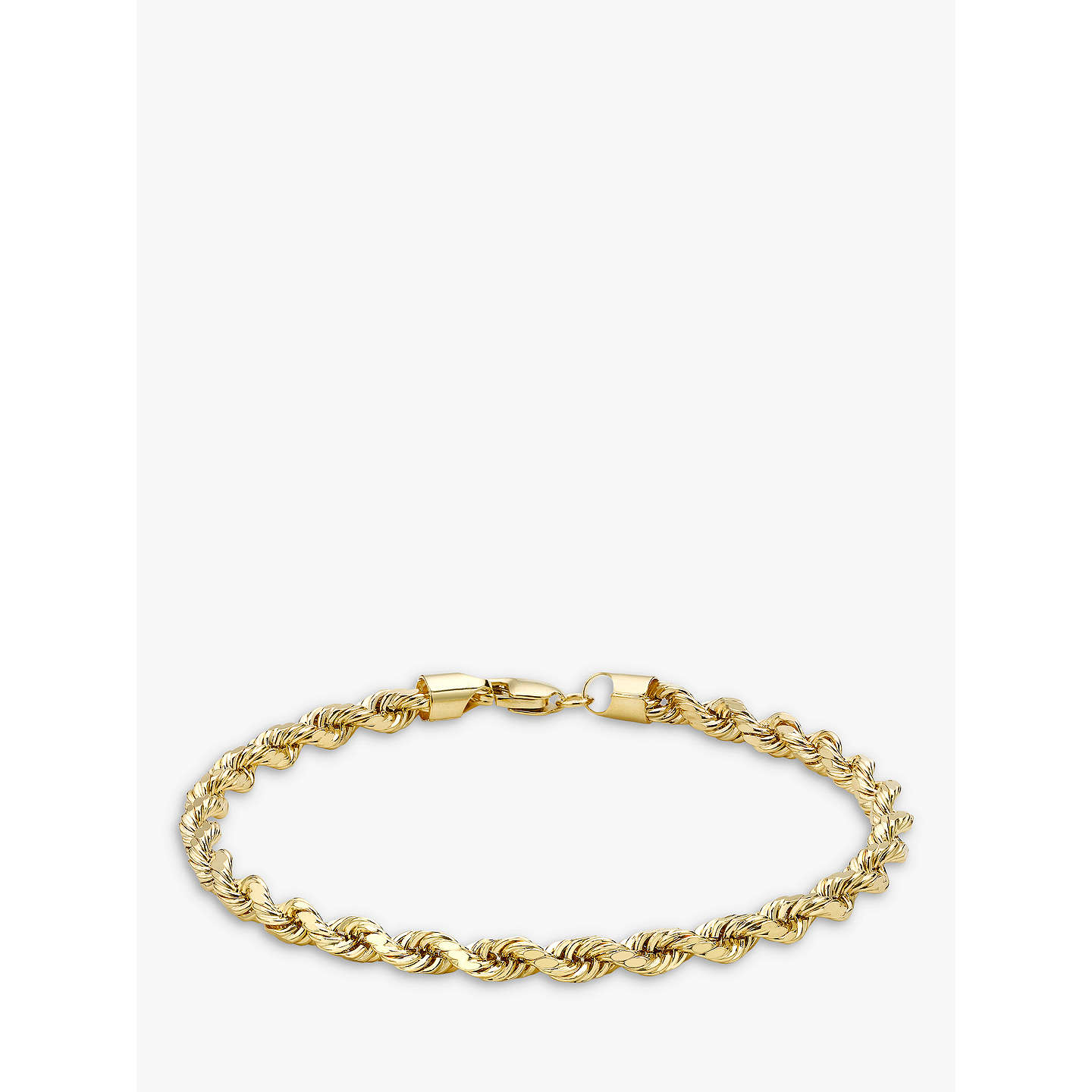 cuban yellow bracelet miami products gold hollow clasp