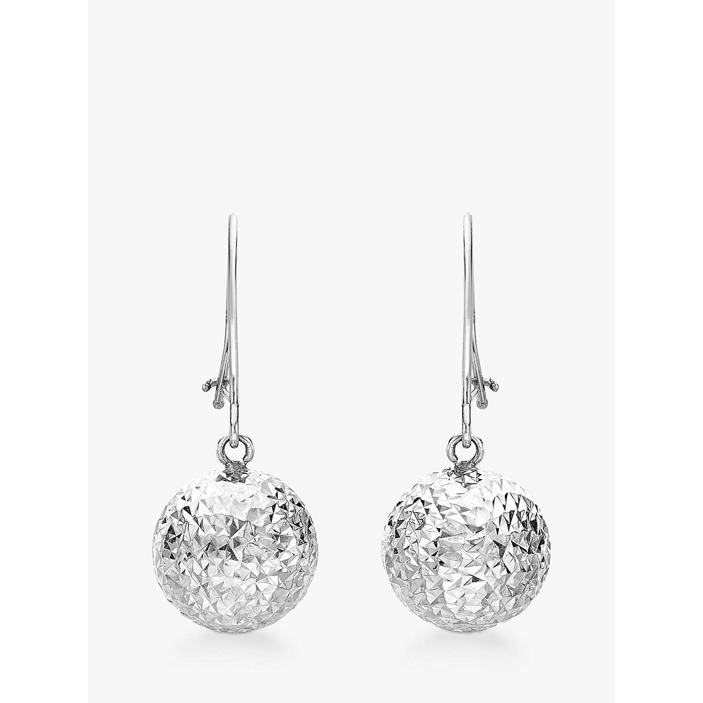 diamond collection cut jewels l estate stud earrings mine in old ball white pave betteridge shamballa