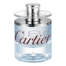 Buy Cartier Eau de Cartier Vétiver Bleu Eau de Toilette, 50ml Online at johnlewis.com