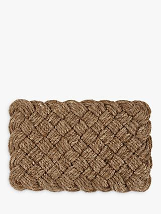 Croft Collection Lovers Knot Door Mat Rug