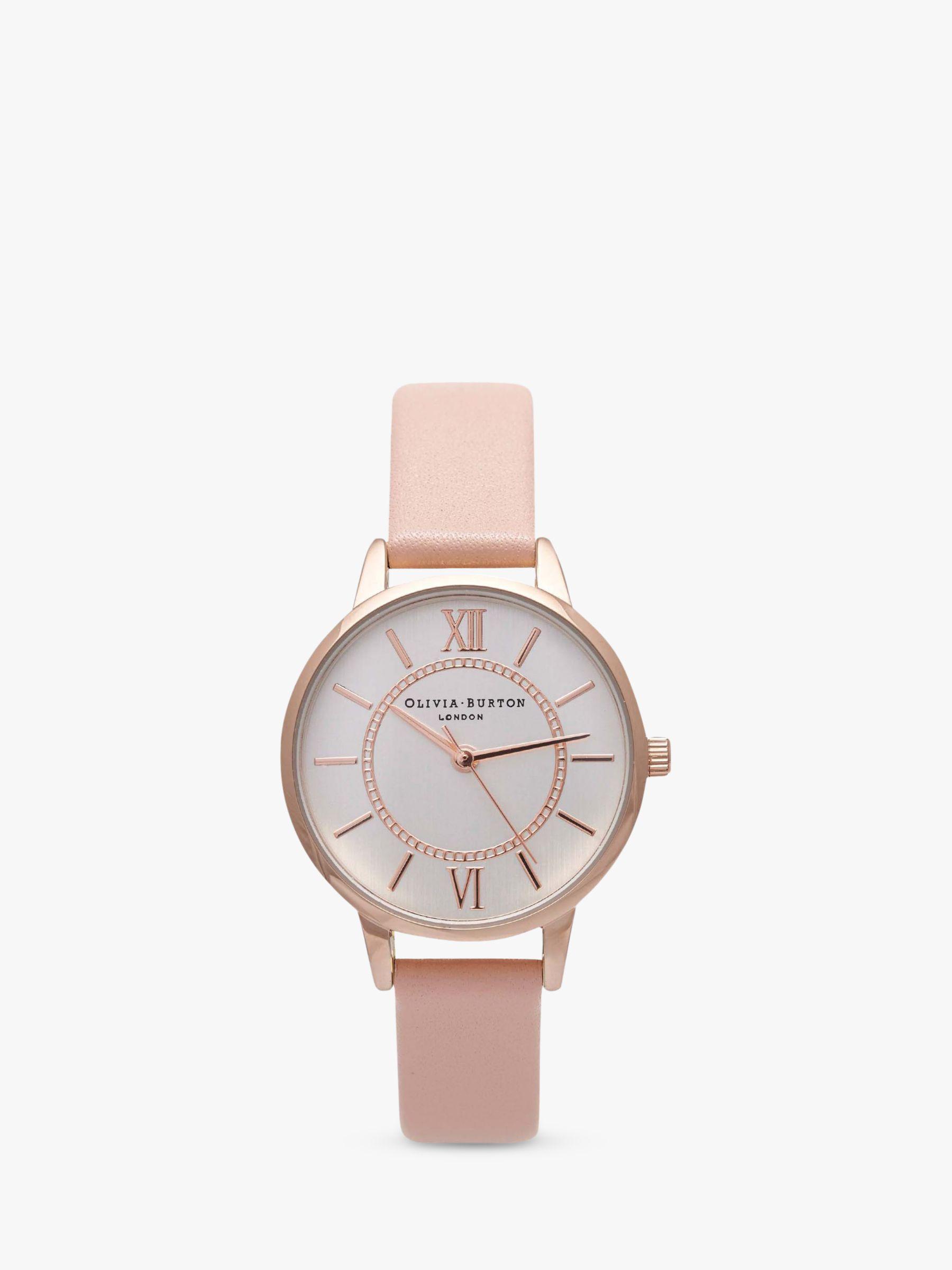 Olivia Burton Olivia Burton Women's Wonderland Leather Strap Watch