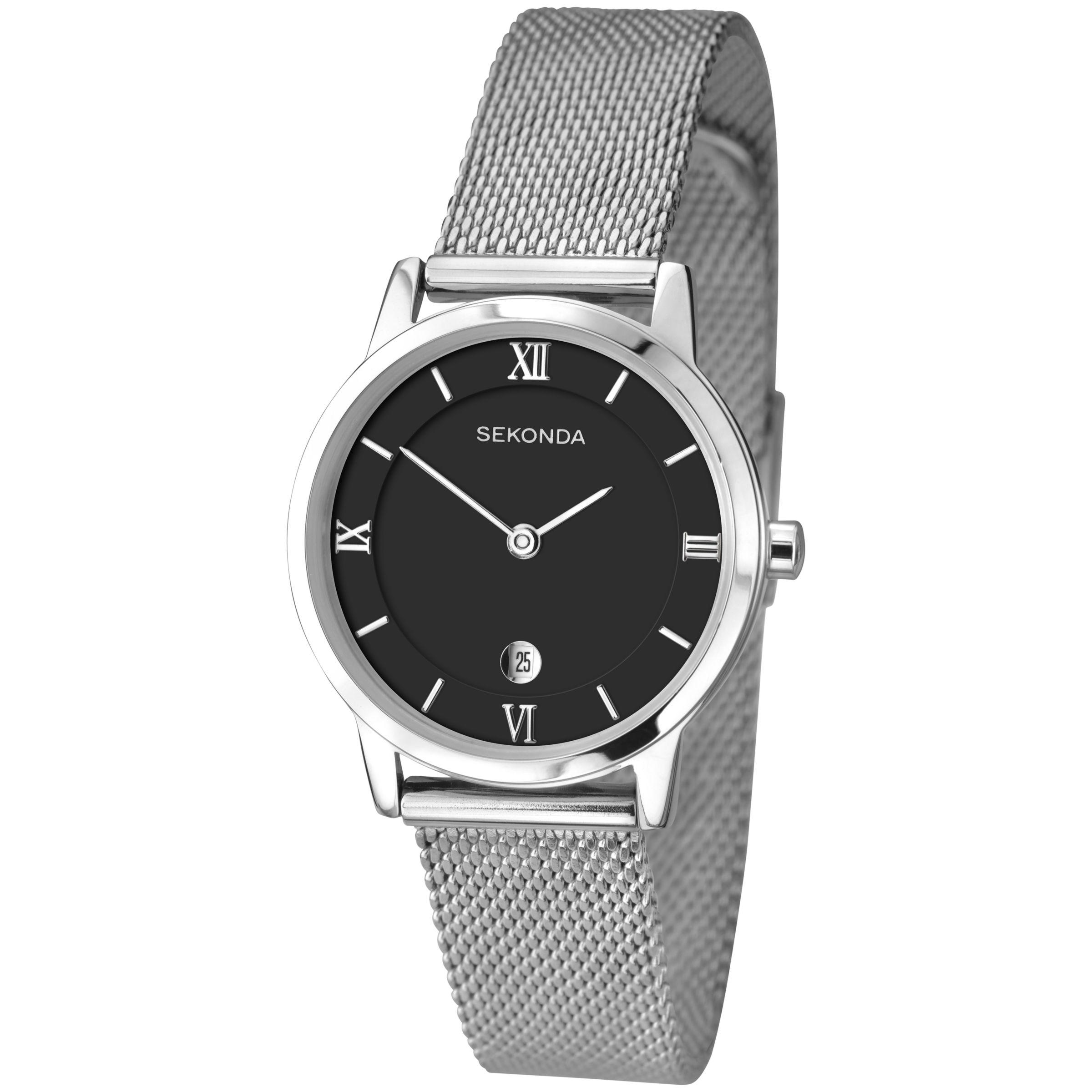 Sekonda Sekonda Women's Date Mesh Bracelet Strap Watch