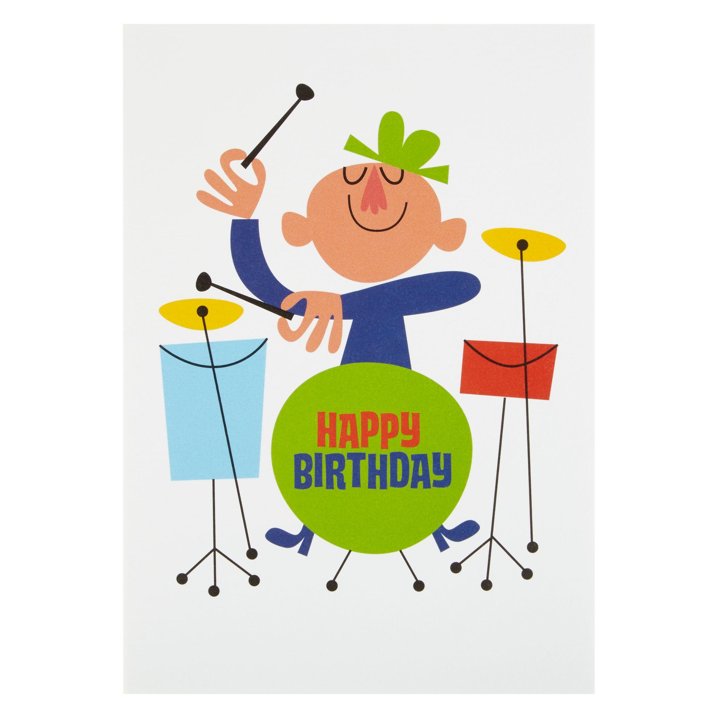 Поздравить с днем рождения барабанщика