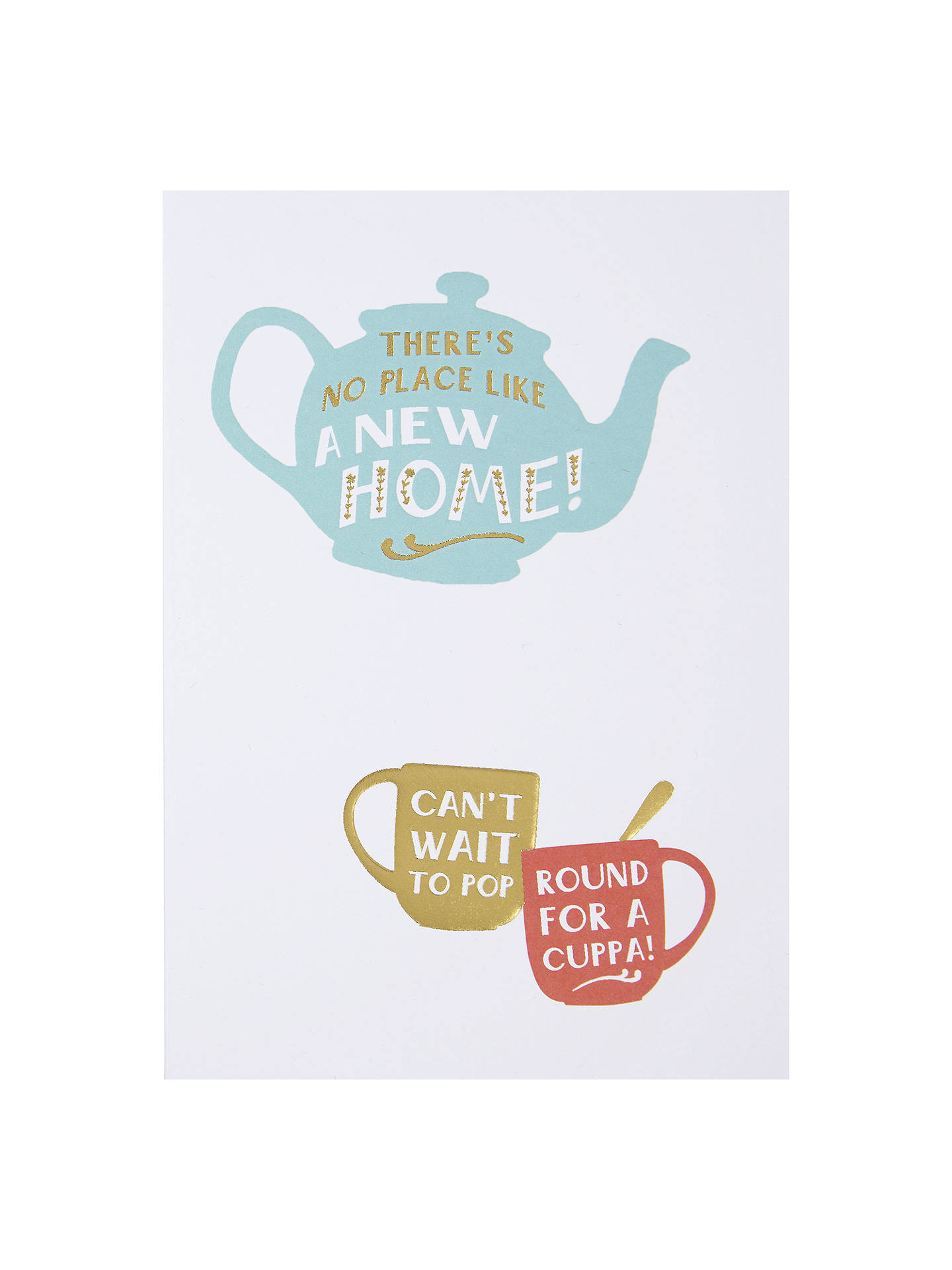 Hotchpotch No Place Like Home Greeting Card At John Lewis Partners