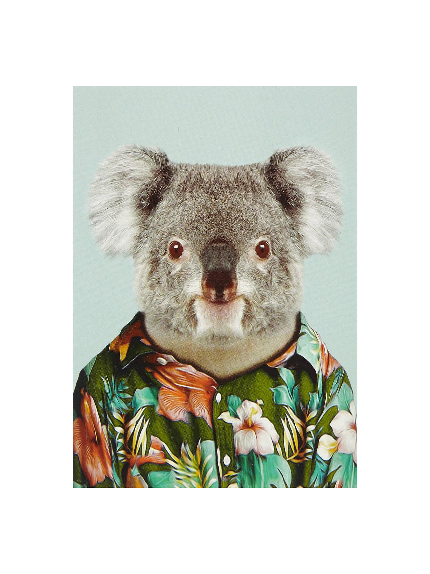 Lagom Designs Koala Greeting Card At John Lewis Partners