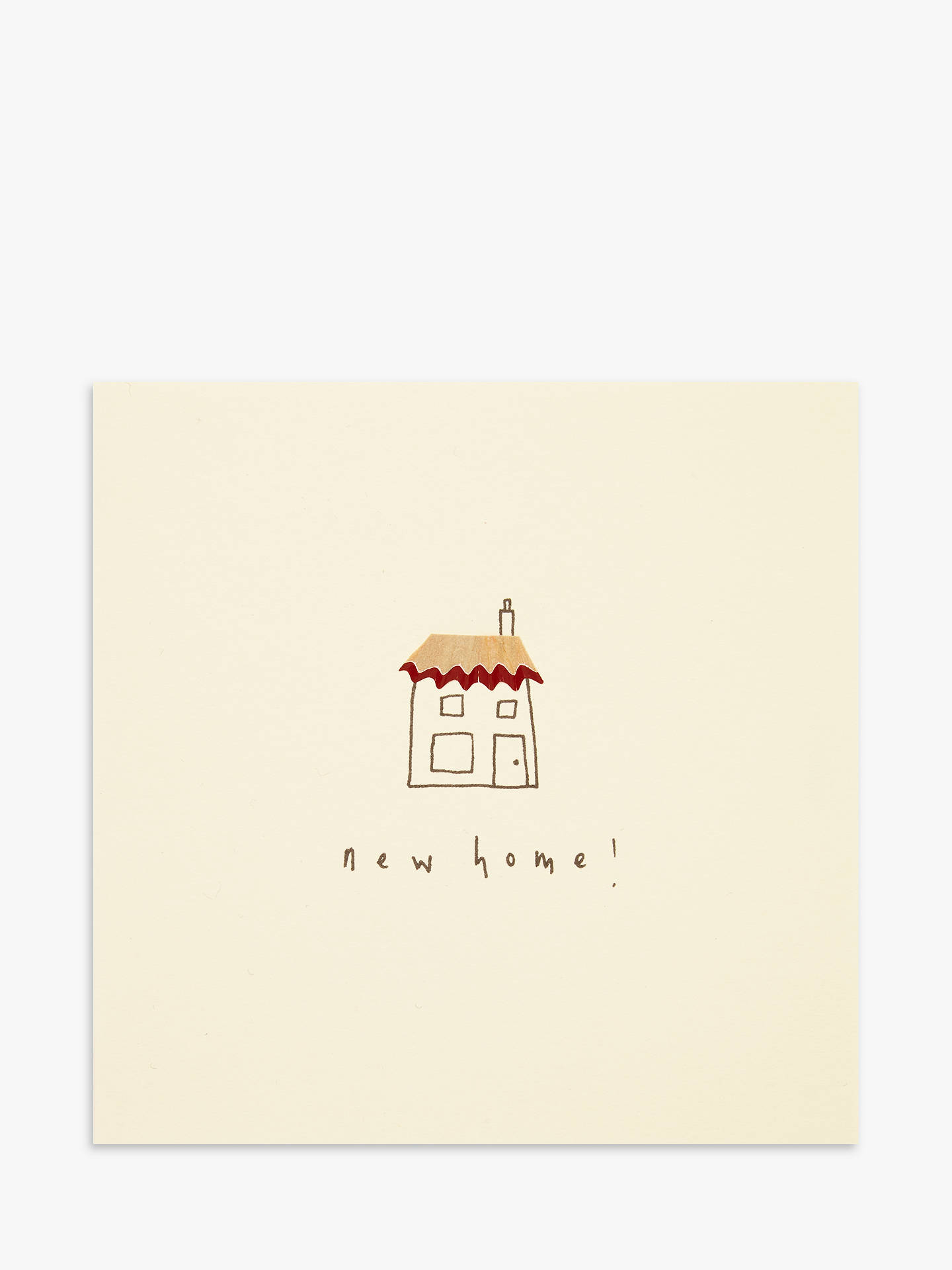 BuyRuth Jackson New Home Greeting Card Online at johnlewis.com