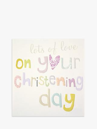 Caroline Gardner On Your Christening Greeting Card