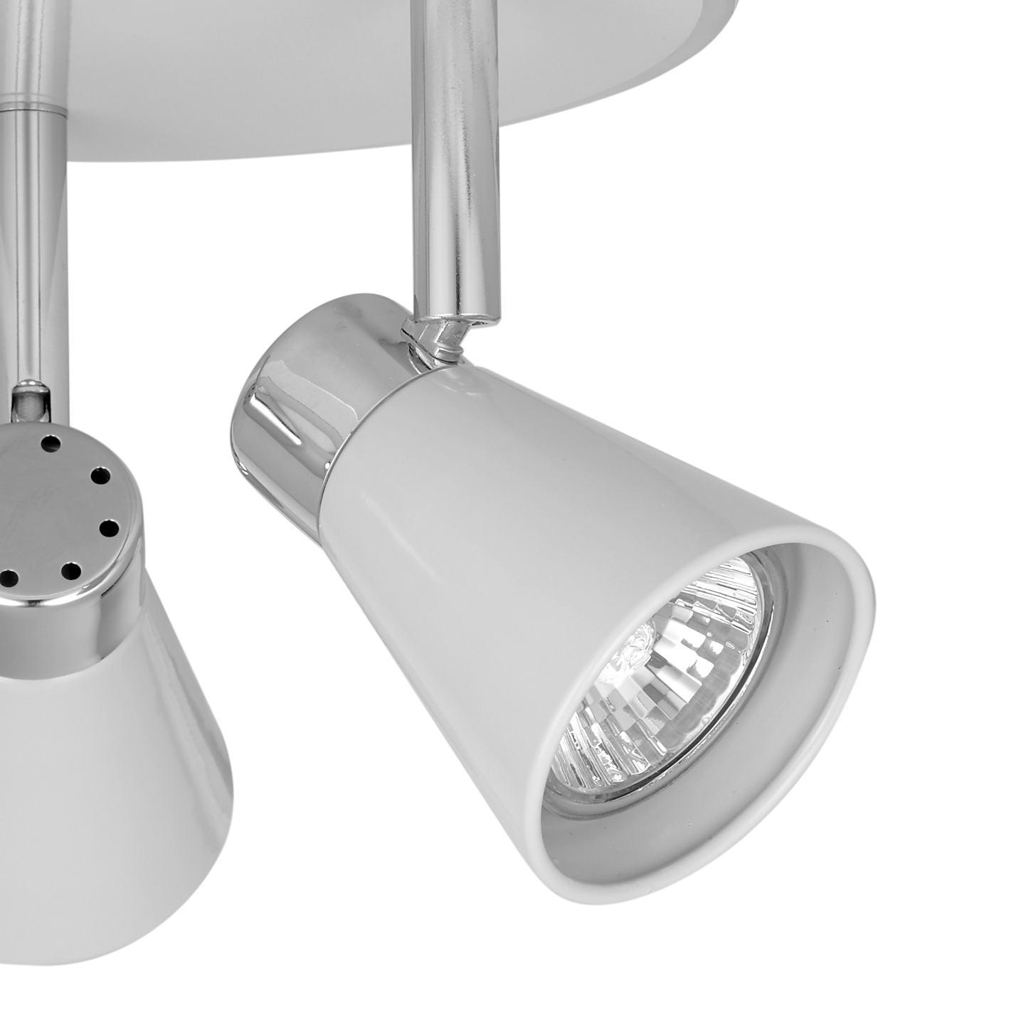 ... Buy John Lewis Logan GU10 LED Spotlight Plate 3 Light Online at johnlewis.com ...  sc 1 st  John Lewis & Buy John Lewis Logan GU10 LED Spotlight Plate 3 Light | John Lewis azcodes.com