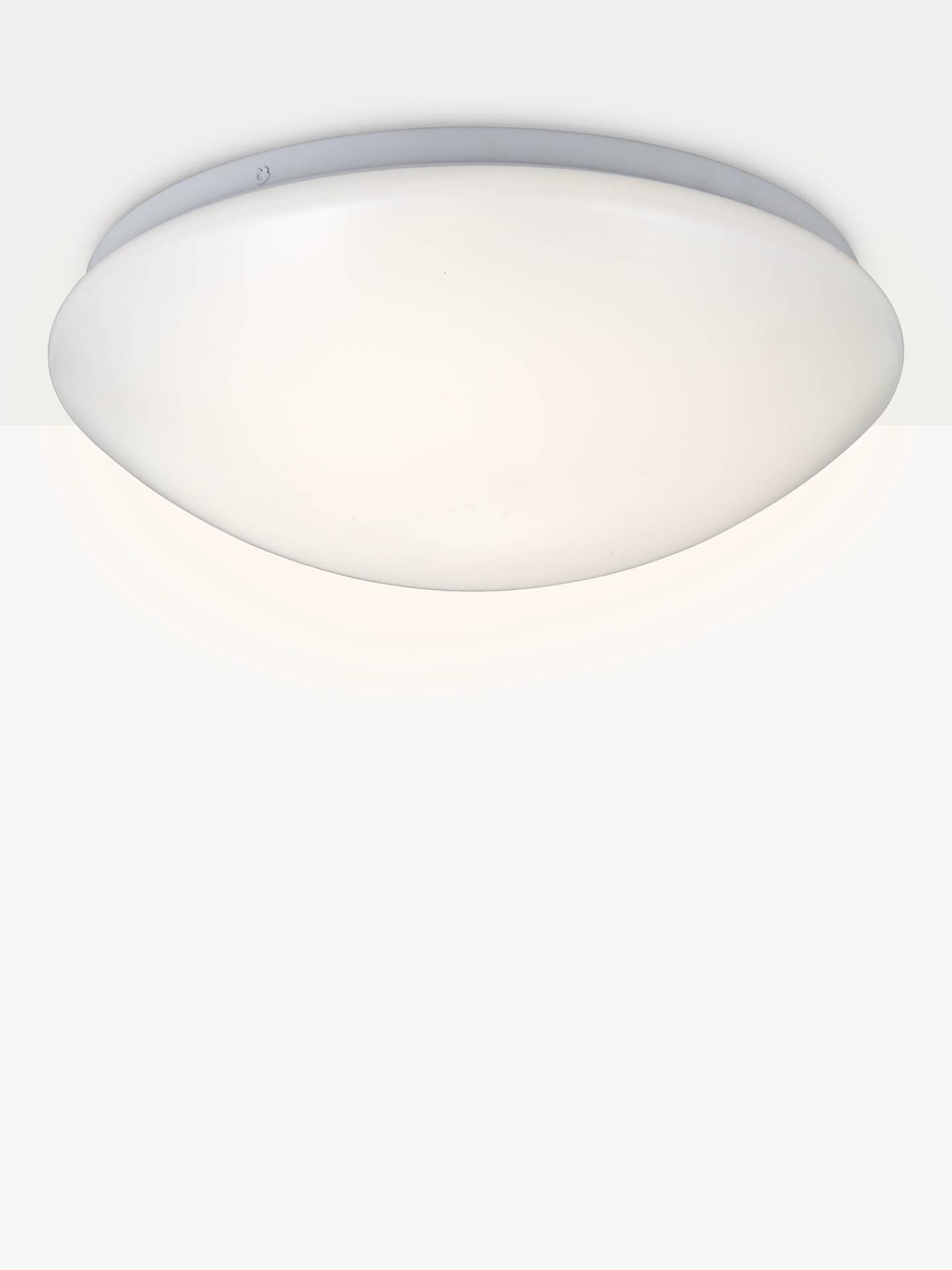 Saint Led Flush Bathroom Light Opal