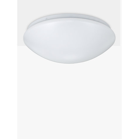 Bathroom Light Fixtures John Lewis buy john lewis saint led flush bathroom light, opal | john lewis