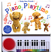 Buy Teddy Bear Friends Piano Playtime Book Online at johnlewis.com