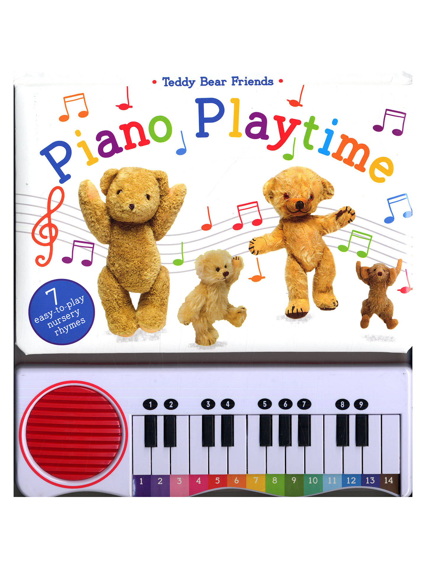 BuyTeddy Bear Friends Piano Playtime Children's Book Online at johnlewis.com
