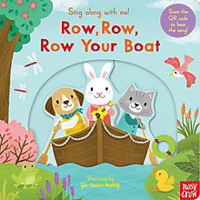 Buy Row, Row, Row Your Boat Sing Along Book Online at johnlewis.com