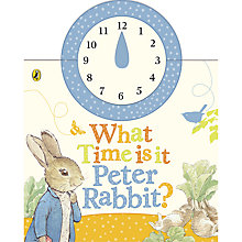 Buy Beatrix Botter Peter Rabbit What Time Is It Peter Rabbit? Book Online at johnlewis.com