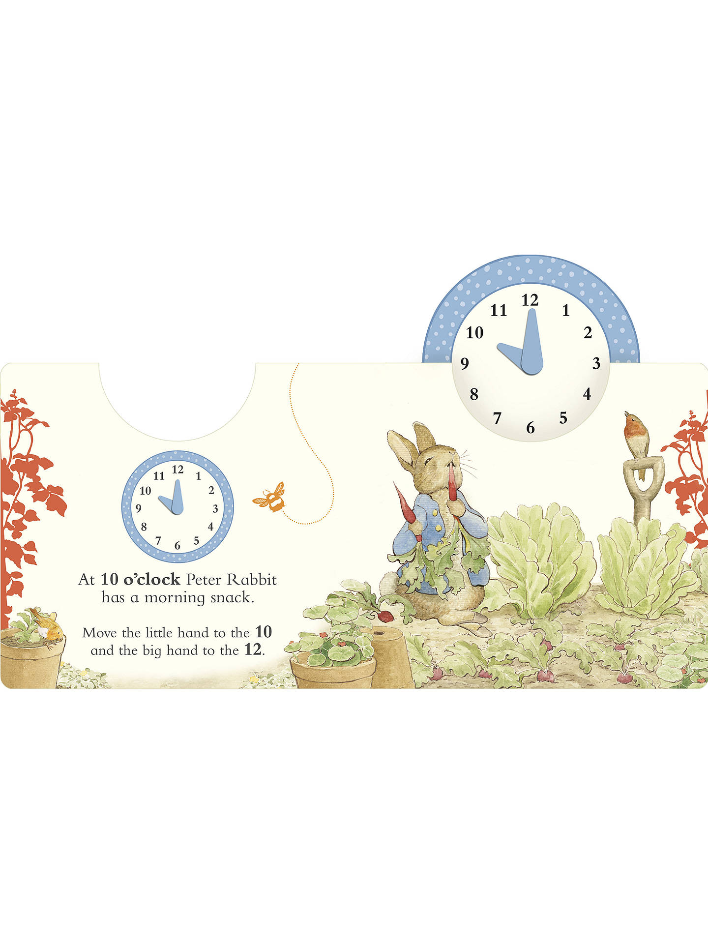 BuyBeatrix Potter Peter Rabbit What Time Is It Peter Rabbit? Children's Book Online at johnlewis.com
