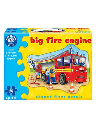 Orchard Toys Big Fire Engine Jigsaw Puzzle, 20 Pieces