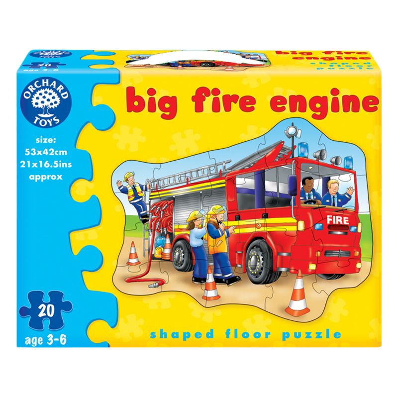 Orchard Toys Orchard Toys Big Fire Engine Jigsaw Puzzle, 20 Pieces