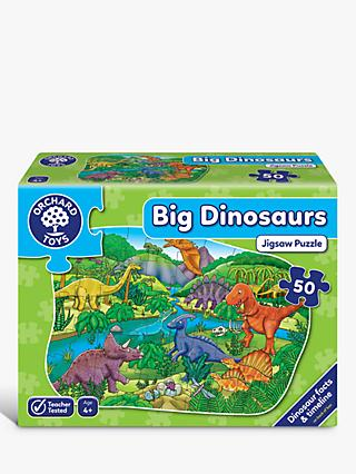 Orchard Toys Big Dinosaur Jigsaw Puzzle, 50 Pieces