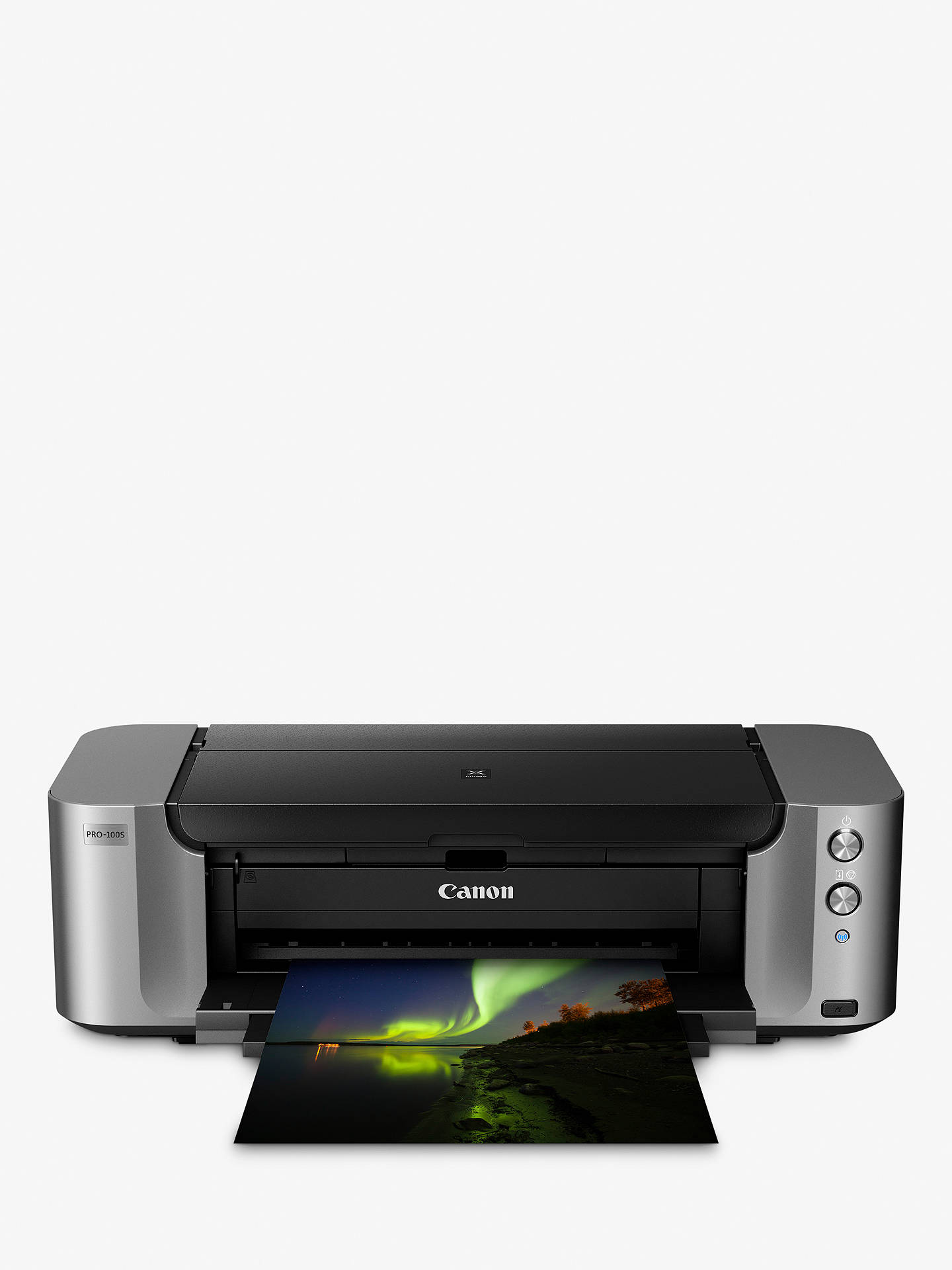 No Ink or Printhead Canon Pixma Pro-100 Inkjet Photo Printer Body Only NEW