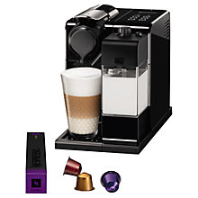 Buy Nespresso Lattissima One Touch Coffee Machine by De'Longhi Online at johnlewis.com