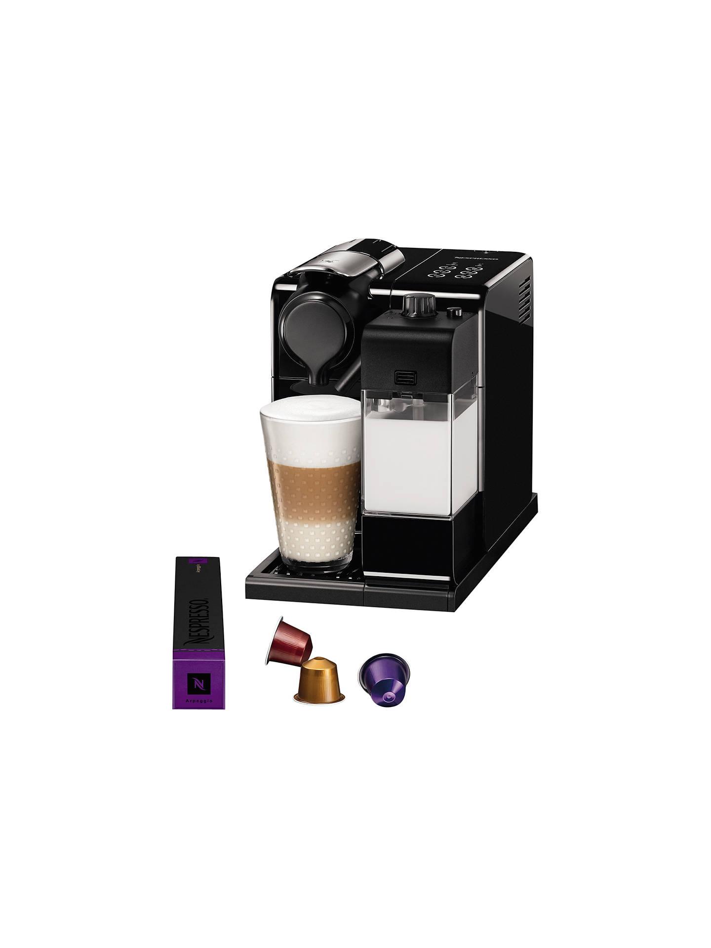 Nespresso Lattissima One Touch Coffee Machine by De'Longhi ...